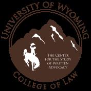 written advocacy center logo