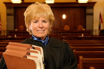 Wyoming Supreme Court Chief Justice, Marilyn Kite.  For UWYO.