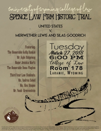 spence trial 2018